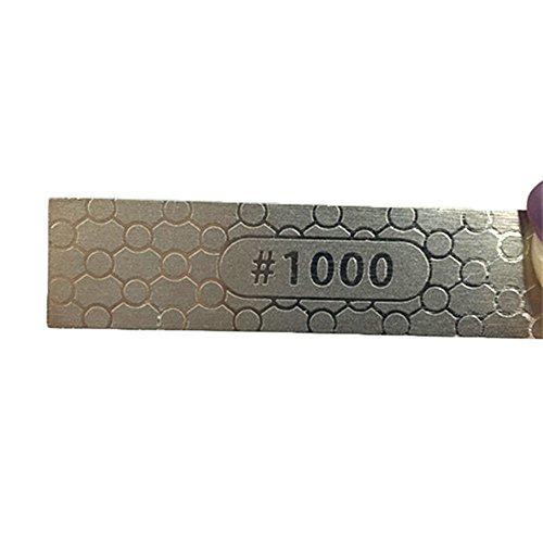 DMD Whetstone Knife Sharpener Mini Knife Sharpening Stones(400 1000 Grits)