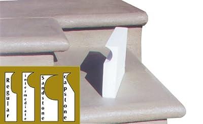 BonWay 32-189 40-Feet Intermediate Concrete Step Form Liners