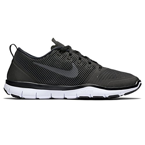 NIKE Free Train Versatility Black/White/Black Running, Cross Training Mens Athletic Shoes Size 11 (Lateral Power Trainer)
