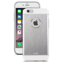 Moshi 99MO079201 iGlaze Armour iPhone 6 Case, Silver