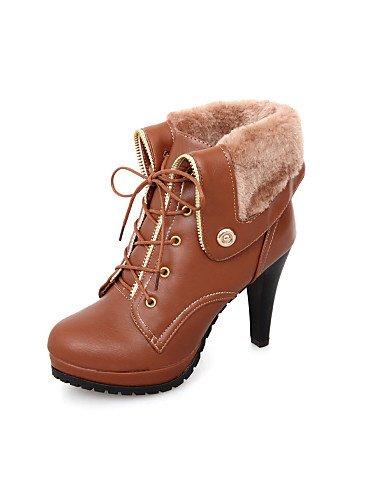Stiefel Fashion Trichterabsatz Schuhe Casual Damen Damen Beute Citior Beute Outdoor HZqPwy