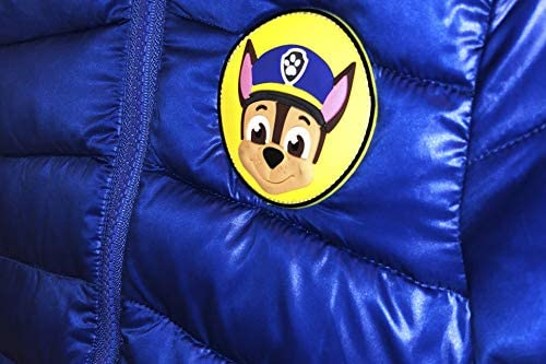 Paw Patrol Boys Toddlers Jacket Dark Blue Jacket Size 2T-5T Authentic Licensed Product
