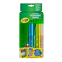 Crayola Dynamic Duos Super Tips Markers