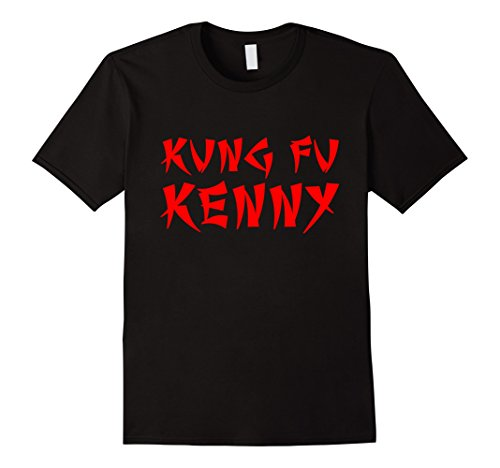Men's Kung Fu Kenny Rap Album Hong Kong T-Shirt Large Black