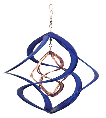 Helix Spinner - Red Carpet Studios Cosmix Copper and Blue Spinner, Medium (31093)