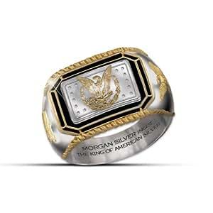 Bradford Exchange Men's Ring: The Morgan Silver Ingot Ring