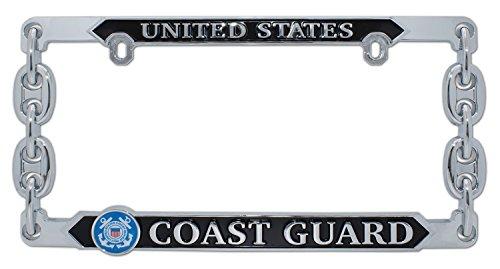 - Elektroplate United States Coast Guard 3D License Plate Frame