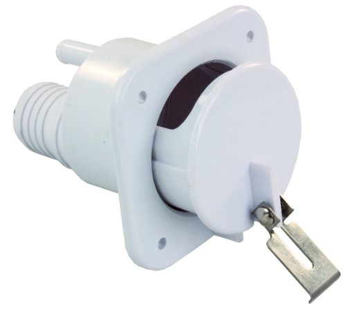 JR Products 37525 Polar White Slide-Out Gravity Water Fill