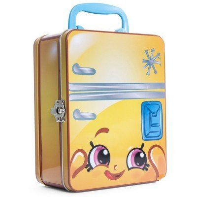 Shopkins Lunchbox Frost T Fridge Collectors Tin with Trump Cards Game by nkown - Fridge Collectors