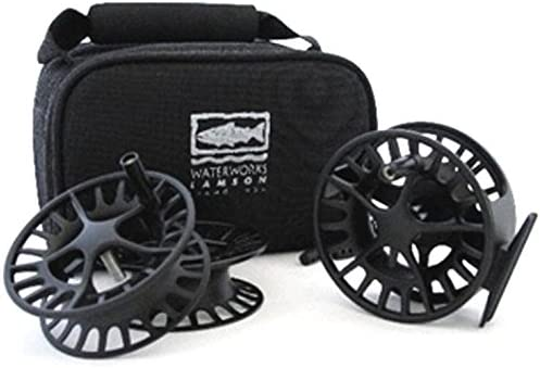 LIQUID 2 3-PACK ONE 5 6WT REEL AND TWO EXTRA SPOOLS WITH CARRYING CASE