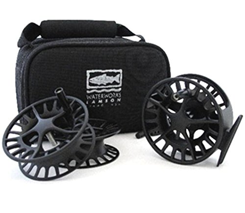 Waterworks-Lamson Liquid 2 3-Pack (ONE 5/6WT Reel and Two Extra SPOOLS) with Carrying CASE