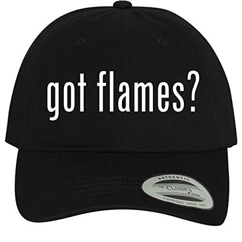 BH Cool Designs got Flames? - Comfortable Dad Hat Baseball Cap, Black