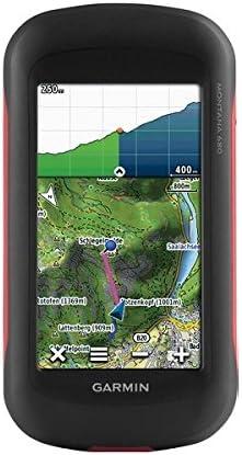 Garmin Montana 680 Touchscreen GPS GLONASS Receiver, Worldwide Basemaps