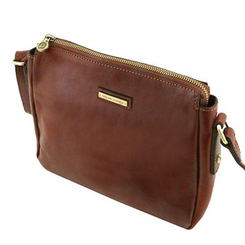 Tuscany Leather Michela Tracollina in pelle Miele Testa di Moro