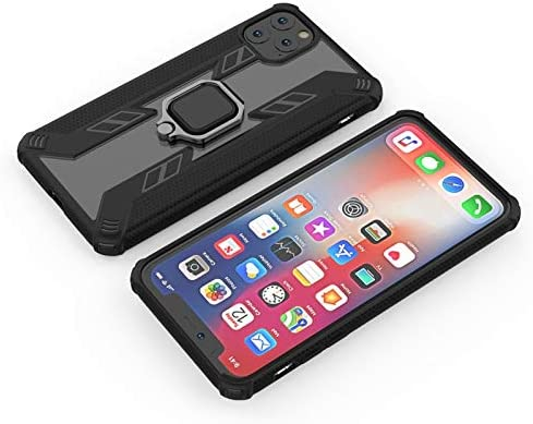 Caja del teléfono del anillo Con compatible con iPhone 11 Pro Max ...