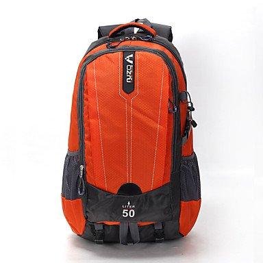 BBYaKi 55 L Zaino Zaino Zaino Zaino Per Escursioni Multifunzione Blu verde Arancione   Aspetto Elegante    diversità imballaggio  971c4f