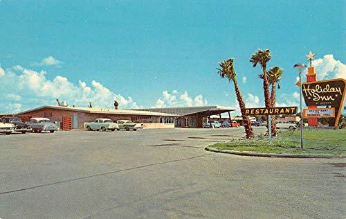 Brownsville Texas Holiday Inn Street View Vintage Postcard K100314