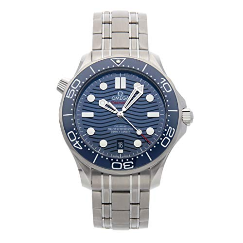- Omega Seamaster Mechanical (Automatic) Blue Dial Mens Watch 210.30.42.20.03.001 (Certified Pre-Owned)