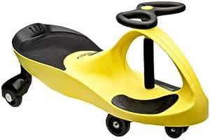 سيارة لعبة للركوب من بلازما - اصفر/اسود