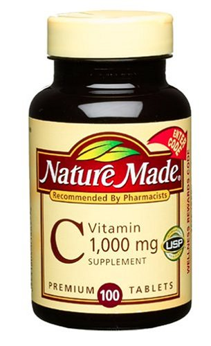 Nature Made Vitamine C 1000mg, 100 Tablets (Pack de 3)