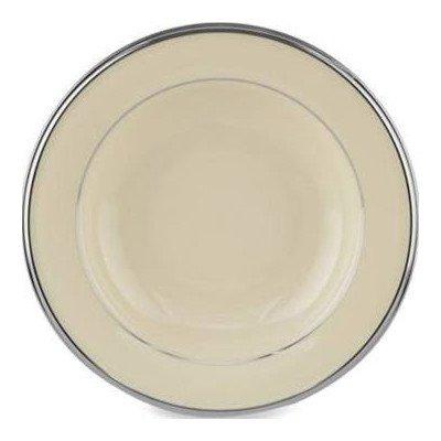 Solitaire Pasta / Soup Bowl [Set of 4] Color: Ivory (Lenox Solitaire White Dinnerware)