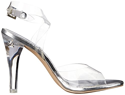 Lucite Transparent Clr 406 Clearly Pleaser Mujer Sandalias aqwnOgUAY
