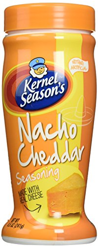 Kernel Season's Nacho Cheddar Seasoning, 8.5 Ounce Shakers (2 Pack) by Kernel Season's