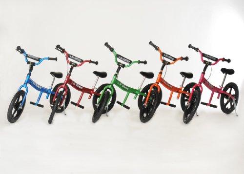 Glide Bikes Kid's Go Glider Balance Bike, Green, 16-Inch by Glide Bikes (Image #2)