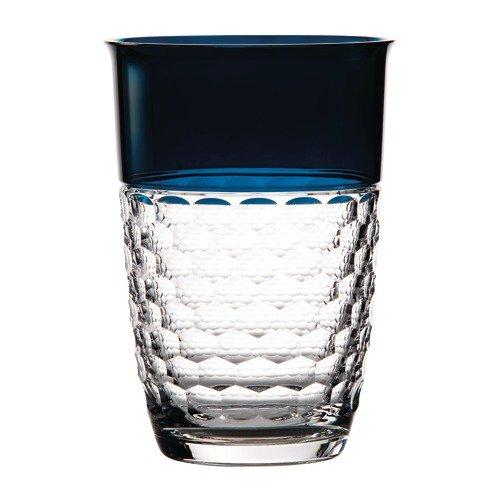 Waterford Crystal Jo Sampson Half and Half Vase, 9'', Teal
