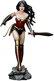 Action Figure Fantasy Figure Gallery Wonder Woman (luis Royo) Pvc - Mulher Maravilha Yamato Toys Multicor