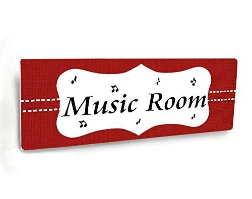 Amazon Com Personalizable Teacher Name Door Sign Shabby Frame Red
