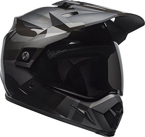 Bell MX-9 Adventure MIPS Full-Face Motorcycle Helmet (Matte/Gloss Blackout, Large)