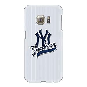 Excellent Cell-phone Hard Covers For Samsung Galaxy S6 (kjm26858ZlPW) Allow Personal Design HD New York Yankees Pattern