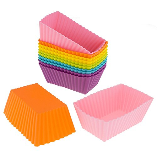 - NszzJixo9 12PC Holiday Party Rainbow Paper Baking Cups - Cake Liner Muffin Case Moon Box Cup Decorator Tool for Balls, Muffins, Cupcakes, and Candies