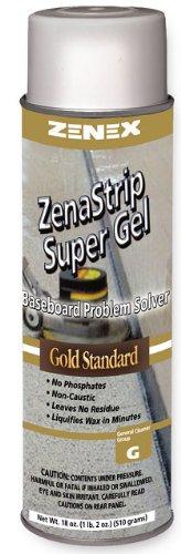 Zenex ZenaStrip Super Gel Gold Standard Baseboard Strip Cleaner - 12 Cans (Case)