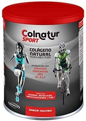 Desbloquear ahorros del 10%Elige la frecuencia de entregaSalta o cancela en cualquier momentoDesbloquear ahorros del 10%Elige la frecuencia de entregaSalta o cancela en cualquier momentoAñadiendo al carrito...Añadido a la cestaNo añadidoNo añadidoColnatur Sport sabor Neutro, 330grs. Proteína hidrolizada de colágeno Colnatur y Vitamina C, Magnesio, Manganeso, Zinc y vitaminas B2 y B3, 11grs al día.