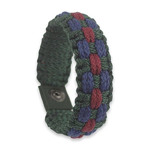 NOVICA Brass Men's Wristband Bracelet, 8.75'' 'Sincerity' by NOVICA