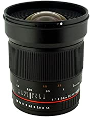 $379 » Rokinon 24mm F/1.4 Aspherical Wide Angle Lens for Canon RK24M-C (Renewed)