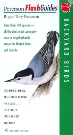 Backyard Birds (Peterson FlashGuides) (Peterson Flash Books Guide)