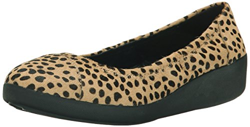 Cheetah F Multicolore Donna Ballerine Pop Tm Fitflop Interest w4RYxqdnq0