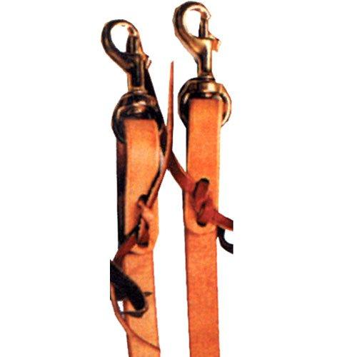 Brown Shenandoah Leather Split Reins
