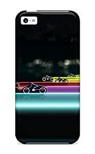 New Premium GyQzXku5159CrCne Diy For Iphone 5C Case Cover Tron Legacy Lightcycle Race Protective