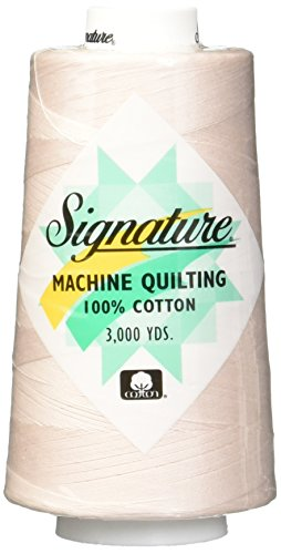 Signature Cotton Quilting Thread, 3000 yd, Solids Linen