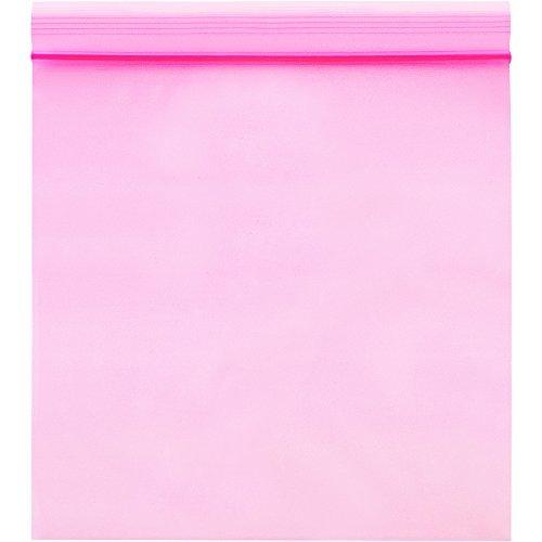 10 x 14 10 x 14 Pink BOX USA BPBAS510 Anti-Static Flat 2 Mil Poly Bags Pack of 1000