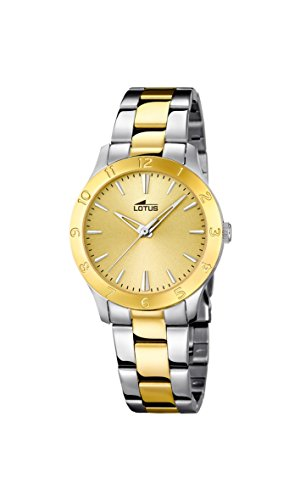 Lady's Watch - LOTUS - Stainless Steel and Gold Platted - 18139/1