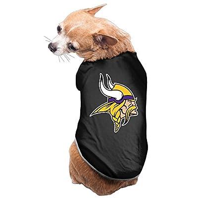 Z-Jane Vkings Minnesota Clothing For Doggie Black