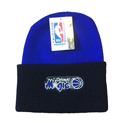 - Orlando Magic 2-Tone Beanie Hat - NBA Cuffed Knit Toque Cap