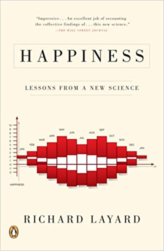Happiness. Lessons from a New Science. Book Cover