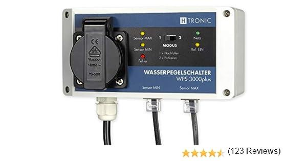 H-Tronic Controlador de Nivel de Agua WPS 3000 Plus: Amazon.es ...