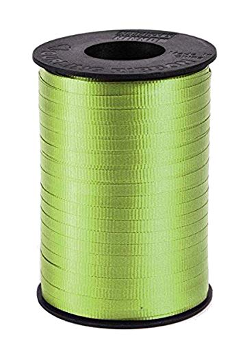 Lime Green Curling Ribbon - SKD Party by Forum Spool of Lime Green Curling Ribbon, 1 Count, 500 Yards